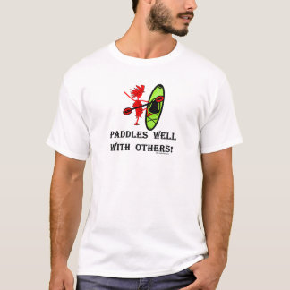 T-shirts Slalom da canoa - pás bem com outro