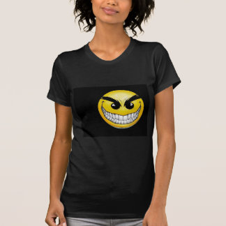 T-shirts Smiley sinistro