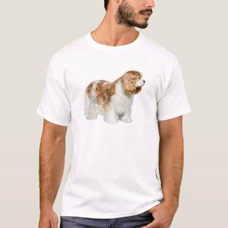 T-shirts Spaniel de rei Charles descuidado