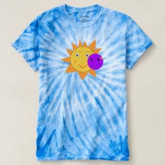 T-shirts Sun e smiley Wortex