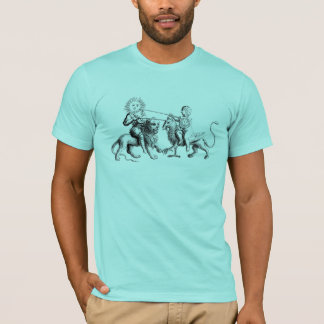 T-shirts Sun na oposição à lua