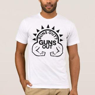 T-shirts Sun para fora?  Armas para fora!