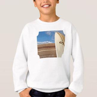 T-shirts Surfe o limite da prancha 2the que surfa o azul de