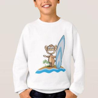 T-shirts Surfista do macaco