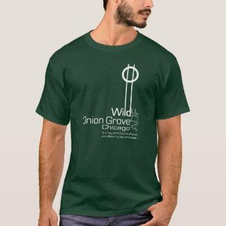 T-shirts T do bosque ADF da cebola selvagem - obscuridade