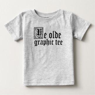 T-shirts T do gráfico do YE Olde