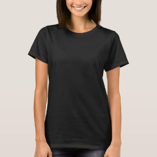 T-shirts T do logotipo do Coven do savana (texto branco)