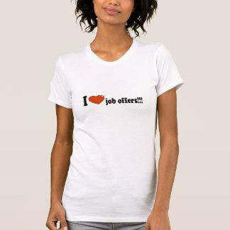 T-shirts Tanque das ofertas de trabalho