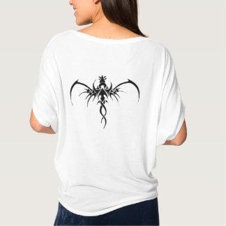 T-shirts Tatto preto do dragão