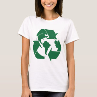 T-shirts Terra do reciclar