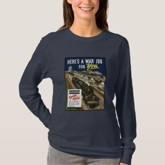 T-shirts Trabalhadores da estrada de ferro urgente