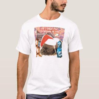 T-shirts Tudo que eu quero para o Natal é você