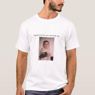 T-shirts Um bebê afortunado