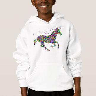 T-shirts Unicórnio do mosaico