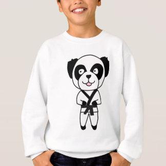 T-shirts Urso de panda das artes marciais