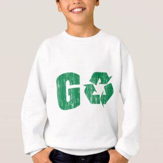 T-shirts Vai o reciclar verde