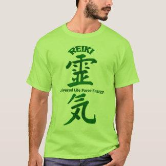 T-shirts Verde de Reiki