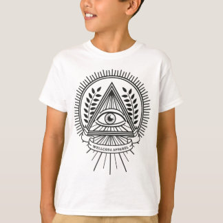T-shirts Vida do segredo de Illuminati do roupa de Wellcoda