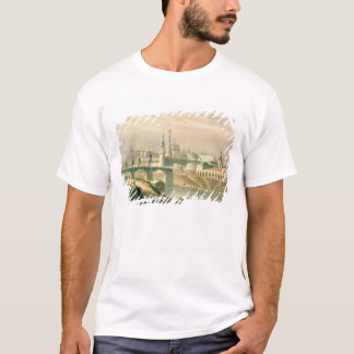T-shirts Vista da Moscovo Kremlin, 1830