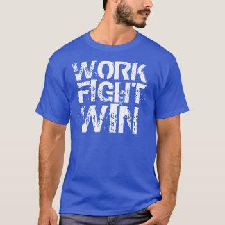 T-shirts Vitória da luta do trabalho do T dos esportes -