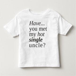 T-shirts você encontrou meu único tio quente?