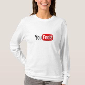 T-shirts Você engana