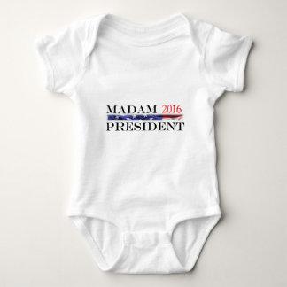 T-shirts Voto para uma senhora presidente em 2016