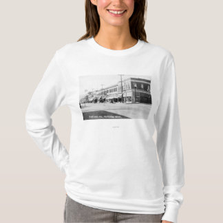 T-shirts Wenatchee, WashingtonView da avenida de Wenatchee