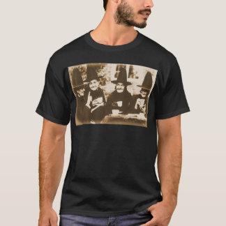 T-shirts Witches Tea festa - sepia