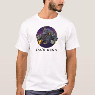 T-shirts Yakkicus da curvatura do iaque!