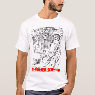 T-shirts Yamaha XS-650