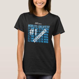 T V12 do preto do astrónomo do mundo o grande Camiseta