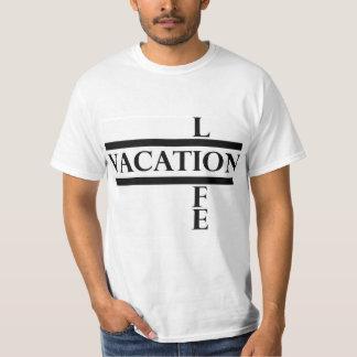 T vertical da vida t-shirts