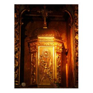 Tabernáculo católico cartão postal