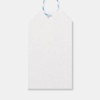 Tag brancos do presente etiqueta para presente