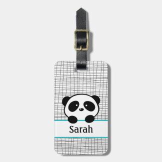Tag conhecido personalizado da bagagem do urso de tag de bagagem