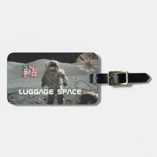 Tag da bagagem de Apollo 11 Etiqueta Para Bagagem