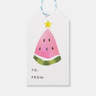 Tag do presente da árvore do Xmas do Natal da