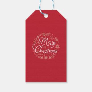 Tag do presente do Natal