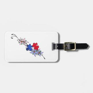 Tag do saco da bagagem do apoio do autismo tag para bagagem