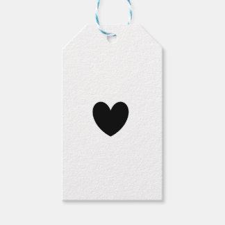 Tag pretos do presente do coração