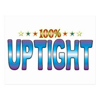 Tag Uptight v2 da estrela Cartões Postais