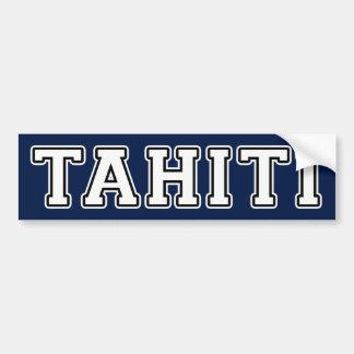 Tahiti Adesivo Para Carro