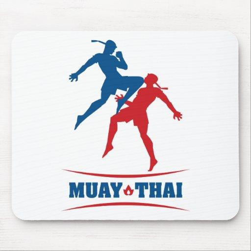 Tailandês de Muay Mouse Pad