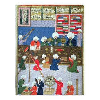 Takyuddin e outros astrónomos cartão postal
