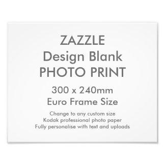 Tamanho de quadro BRITÂNICO do impressão da foto Impressão De Foto