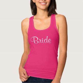 Tanque da noiva camisetas
