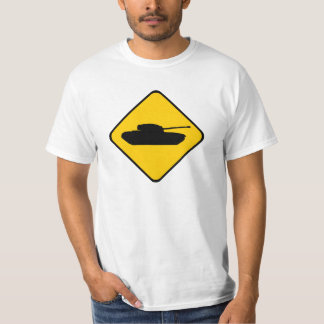 Tanque de advertência! tshirts