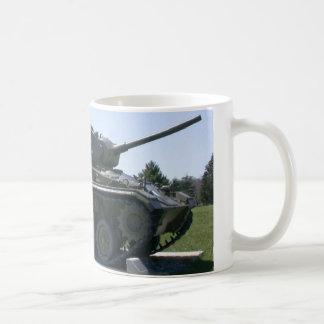 Tanque de exército caneca de café