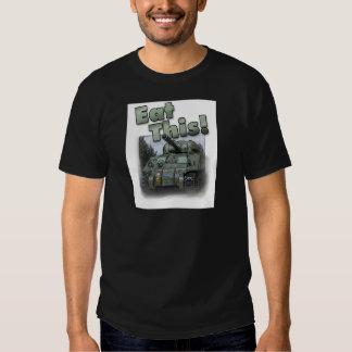 Tanque de Sherman - coma isto! T-shirt